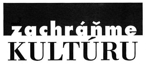 Otvorené fórum Zachráňme kultúru Logo